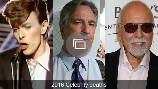 celebrity deaths 2016 slideshow