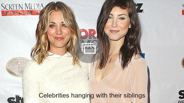 celebrity siblings slideshow