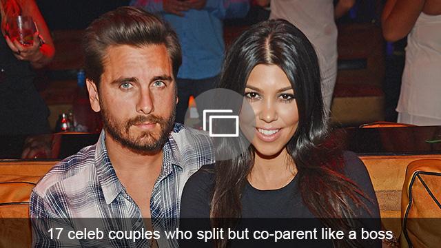 Celebs who co-parent slideshow