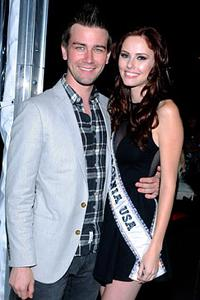 Miss USA Alyssa Campanella hooks up