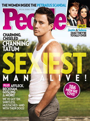 Channing Tatum is People's Sexiest Man Alive