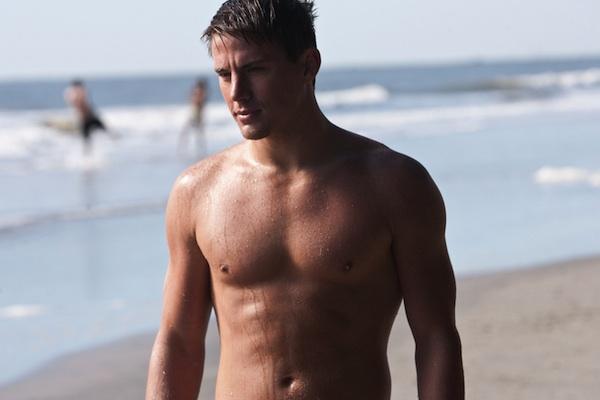 Channing Tatum in hot threesome?