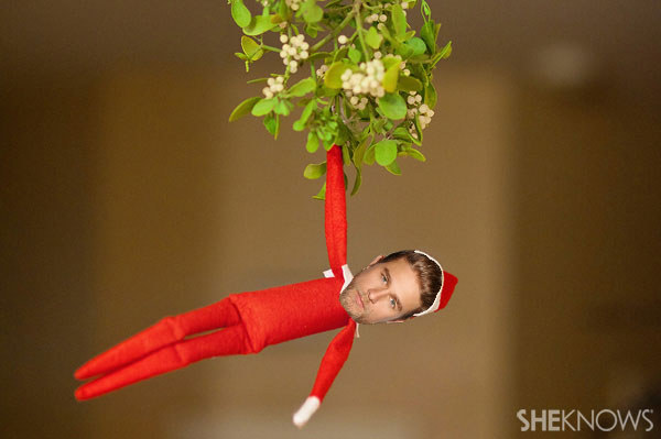 Charlie Hunnam Elf on the Shelf meme