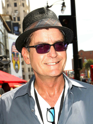 Charlie Sheen Getting a Star on the Hollywood Walk of Fame