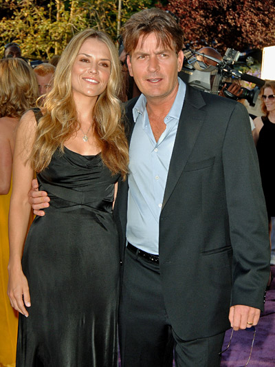 the latest Mr and Mrs Charlie Sheen