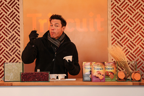 Rocco DiSpirito partners with Triscuits