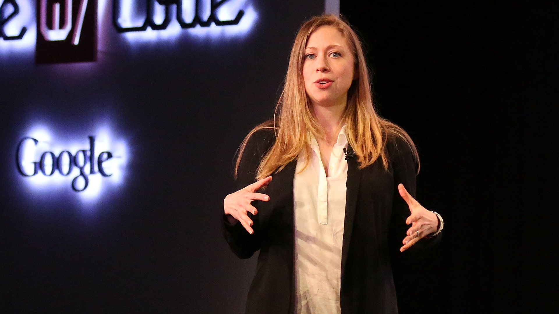 Chelsea Clinton at Made with Code event