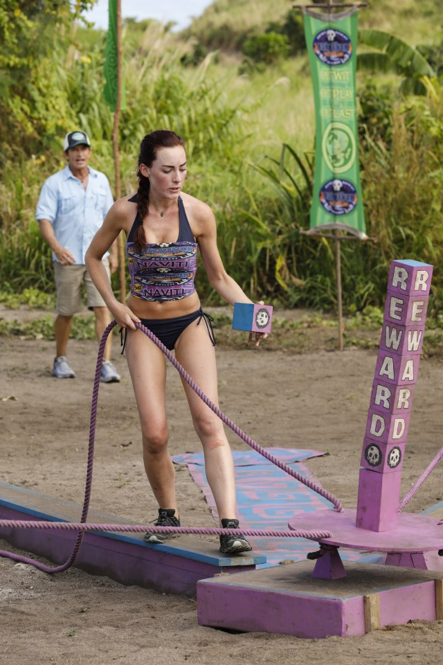 Chelsea Townsend on Survivor: Ghost Island
