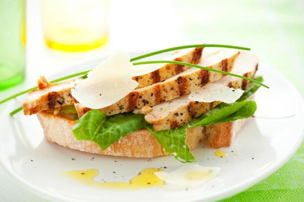 Chicken ceasar sandwich