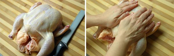 chicken fabrication