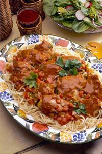 Chicken Paprikash Cheddar