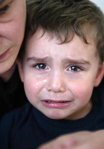 Child with seperation anxiety