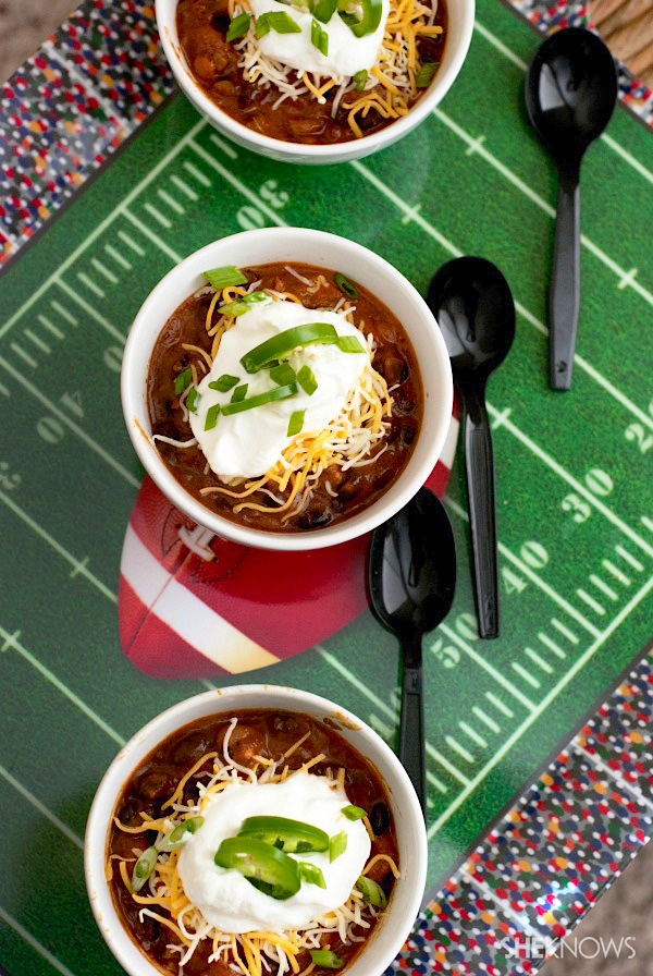 Spicy beer chili