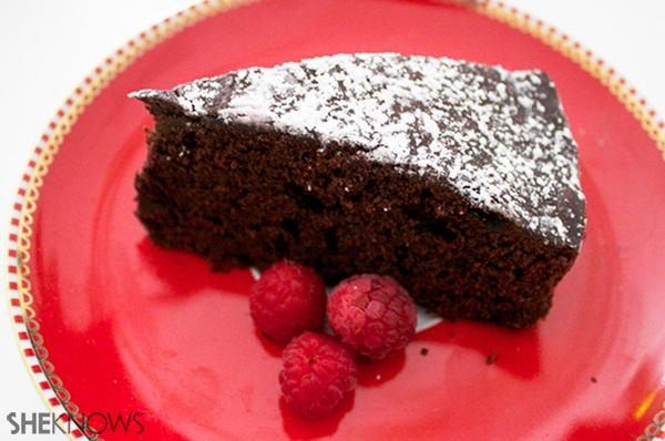 Chocolate merlot cake | Sheknows.ca - final product