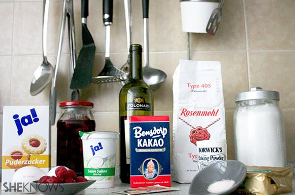 Chocolate merlot cake | Sheknows.ca - ingredients