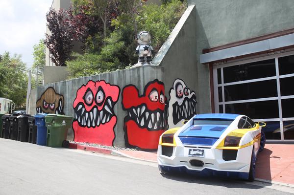 Chris Brown's goblin murals