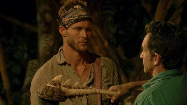 Chris Noble voted off Survivor: Ghost Island