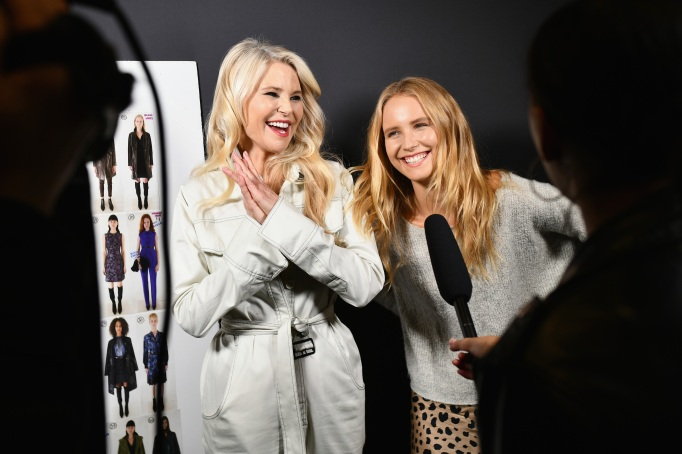 NEW YORK, NY - FEBRUARY 07: Christie Brinkley and Sailor Brinkley-Cook attend Elie Tahari FW 19 Runway Show on February 7, 2019 in New York City. (Photo by Jared Siskin/Patrick McMullan via Getty Images)