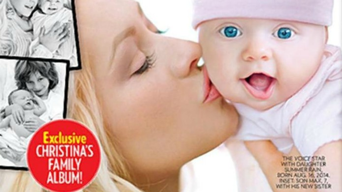 Mommy tweets: Christina Aguilera's baby, Jaime