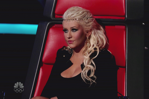 Christina Aguilera rooting for Tony Lucca to fail