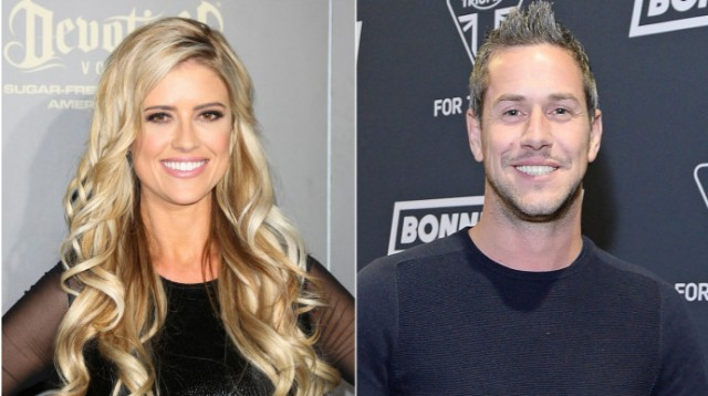 Photo collage of Christina El Moussa and Ant Anstead