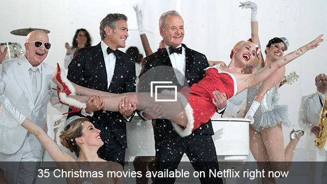 Christmas movies on Netflix slideshow