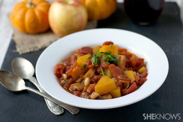 Butternut squash and apple chili recipe