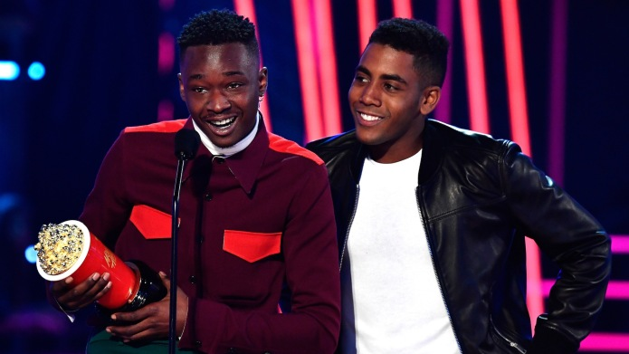 Moonlight's Jharrel Jerome and Ashton Sanders