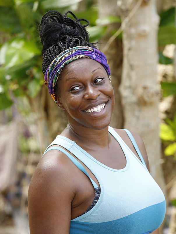 Ciandre Taylor of Survivor: Millennials Vs. Gen-X