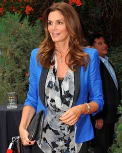 Celeb mom Cindy Crawford