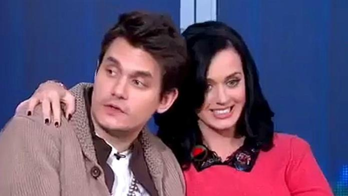 Katy Perry, John Mayer were spotted