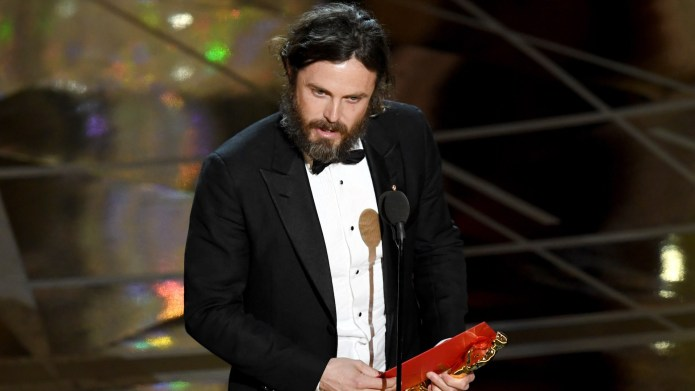 Casey Affleck Has No Business Presenting