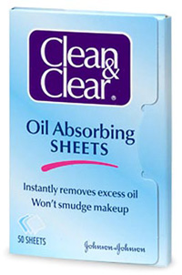 Clean and clear oil wipes