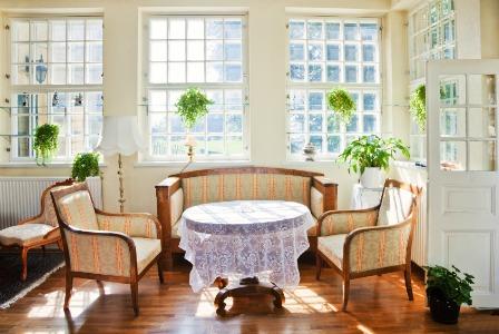 Clean home with fresh air