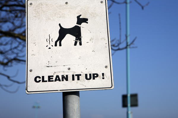 Clean it Up Sign