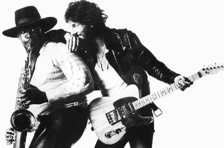 Clarence Clemons Bruce Springsteen