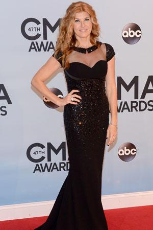 Connie Britton at the 2013 CMAs