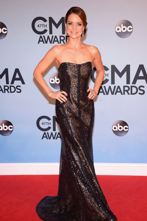 Kimberly Williams Paisley at the 2013 CMAs