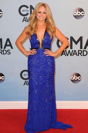 Miranda Lambert at the 2013 CMAs