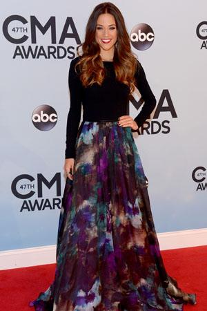 Jana Kramer at the 2013 CMAs