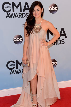 Lucy Hale at the 2013 CMAs
