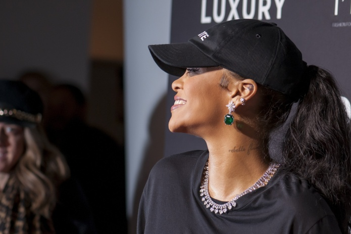 Rihanna Is Serving Resistance Chic in
