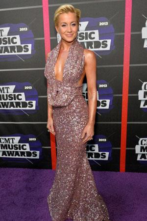 Kellie Pickler at the CMT Music Awards