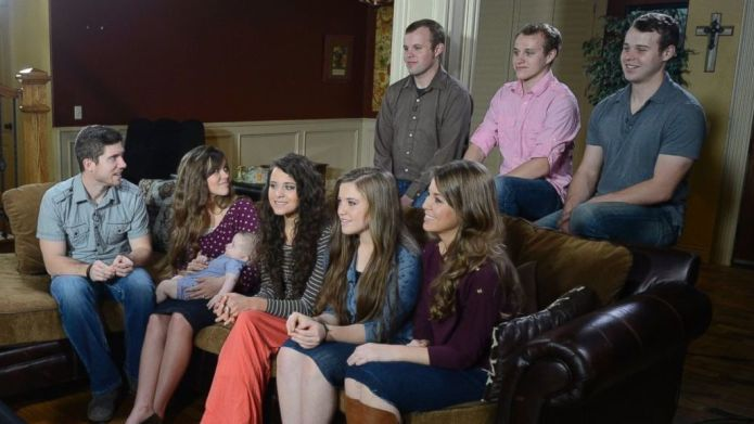 The Duggar sisters had the most