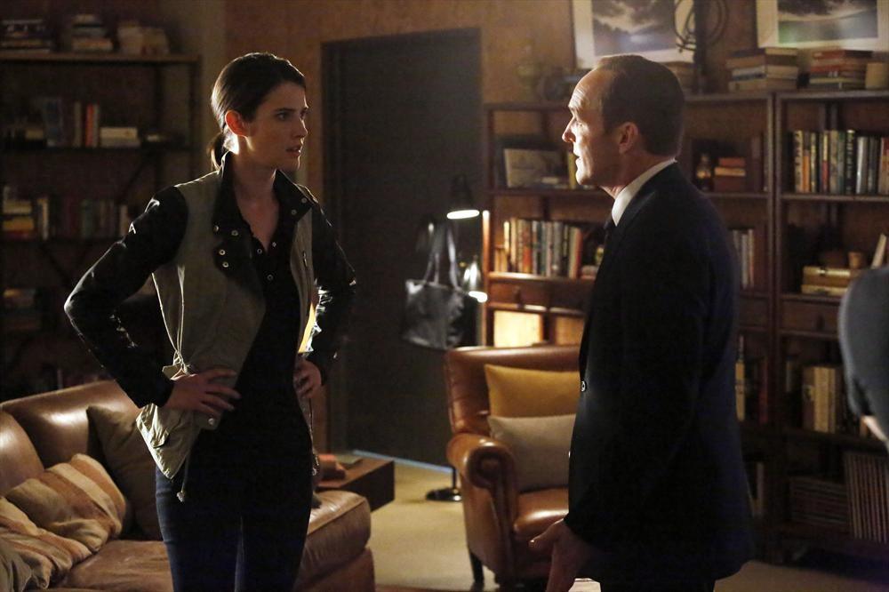 Cobie Smulders in Agents of SHIELD