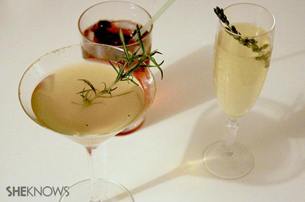 Honey Rosemary martini   Sheknows.ca