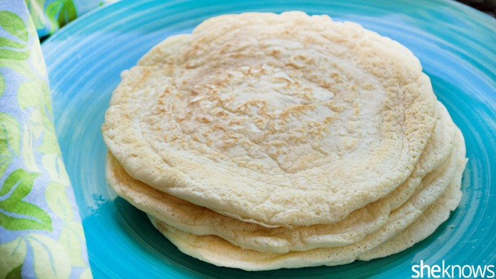 Make gluten-free flour tortillas in 5