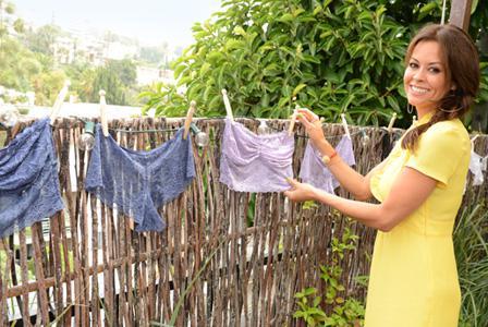 Newlywed Brooke Burke talks lingerie and