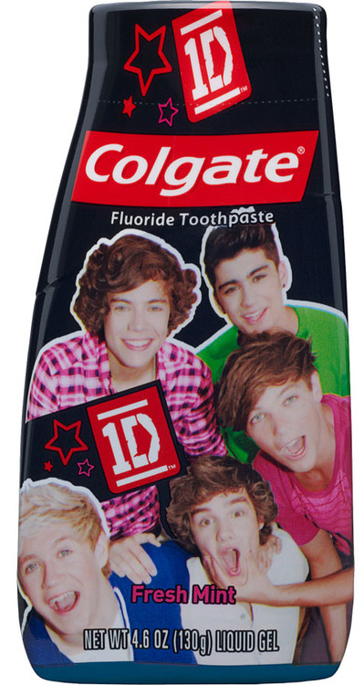 One Direction toothpaste