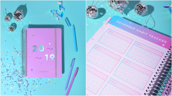 2019 Blogilates Fit planner.